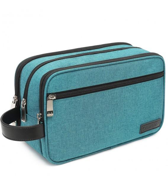 93825f65190c Toiletry Bag for Men Waterproof Dopp Kit Travel Bags for Shaving ...